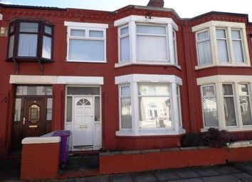 Thumbnail 3 bedroom terraced house for sale in Tatton Road, Orrell Park, Liverpool, Merseyside