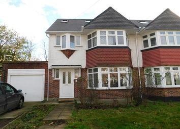 Thumbnail 4 bed semi-detached house for sale in Bridge Way, Whitton, Twickenham