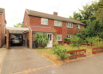 Thumbnail 3 bed semi-detached house to rent in Stephens Road, Mortimer Common, Reading
