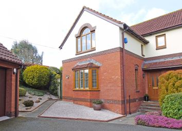 Thumbnail 3 bed detached house for sale in Brownlees, Exminster, Exeter