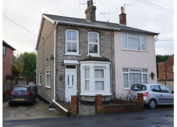 Thumbnail 3 bed semi-detached house for sale in Chapel Street, Colchester