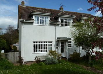 Thumbnail 3 bed semi-detached house to rent in Orchard Drive, Otterton, Budleigh Salterton, Devon