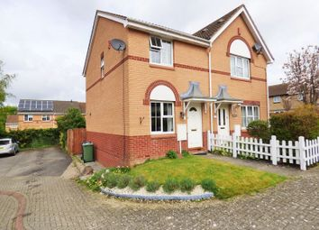 Thumbnail 2 bed semi-detached house for sale in Staunton Close, Abbeymead, Gloucester