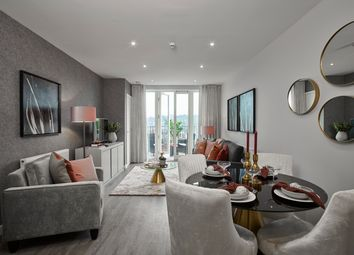 Thumbnail 1 bed flat for sale in Corys Road, Rochester