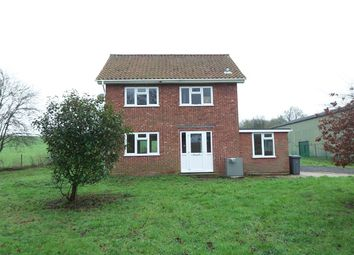 Thumbnail 3 bed detached house to rent in Halesworth Road, Heveningham, Halesworth