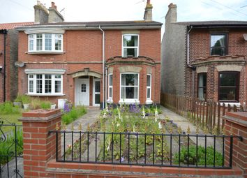Thumbnail 3 bed semi-detached house for sale in Acton Road, Pakefield, Lowestoft