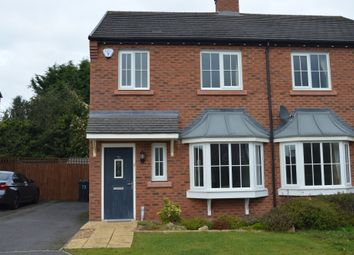 Thumbnail 3 bed semi-detached house to rent in Hastings Road, Nantwich