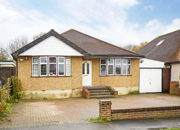 Thumbnail 4 bed bungalow to rent in Highfield Drive, Ewell, Epsom