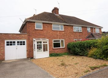 Thumbnail 3 bed semi-detached house for sale in Fernlea Close, Cherry Hinton, Cambridge