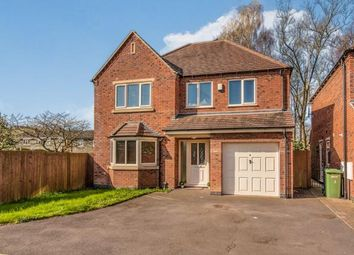 Thumbnail 4 bed detached house for sale in Hazel Brooke Court, Hazelslade, Cannock, Staffordshire
