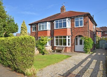 Thumbnail 4 bed semi-detached house for sale in Grasmere Crescent, Harrogate