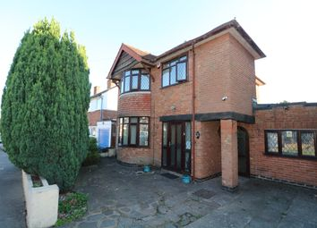 Thumbnail 3 bed detached house for sale in Woodnewton Drive, Evington, Leicester