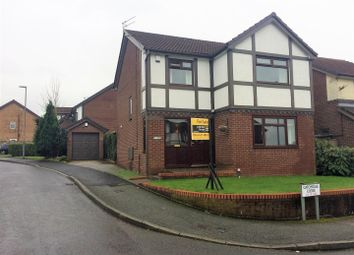Thumbnail 4 bed detached house for sale in Catchdale Close, Blackley, Manchester