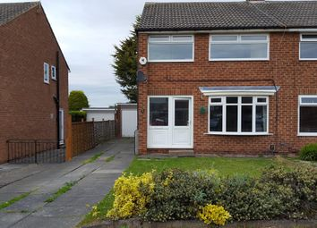 Thumbnail 3 bed semi-detached house to rent in Yearby Close, Acklam, Middlesbrough