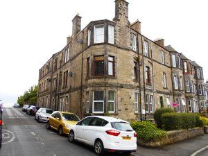 Thumbnail 1 bedroom flat to rent in Victoria Terrace, Dunfermline