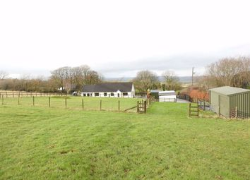 Thumbnail 3 bedroom detached bungalow for sale in Capel Iwan, Newcastle Emlyn, Carmarthenshire