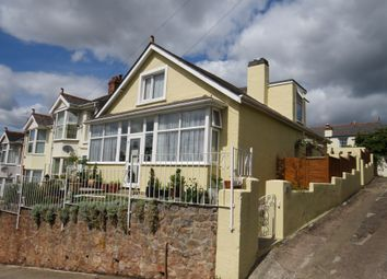 Thumbnail 3 bed semi-detached bungalow for sale in Westbourne Road, Torquay