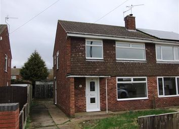 Thumbnail 3 bed semi-detached house for sale in Knightsbridge Road, Messingham, Scunthorpe