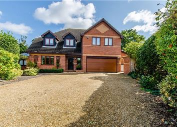 Thumbnail 5 bedroom detached house for sale in Ermine Street, Caxton, Cambridge
