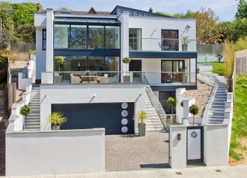 Thumbnail 5 bed detached house for sale in Goldstone Crescent, Hove