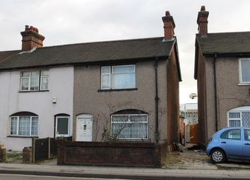 Thumbnail 3 bed end terrace house for sale in Ley Street, Ilford