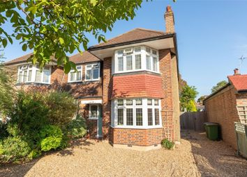 Thumbnail 3 bed semi-detached house for sale in Beecot Lane, Walton-On-Thames, Surrey