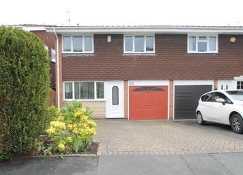 Thumbnail 4 bed semi-detached house to rent in Hunnington Crescent, Halesowen, West Midlands