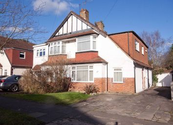 Thumbnail 3 bed semi-detached house for sale in Sylvia Avenue, Hatch End, Pinner