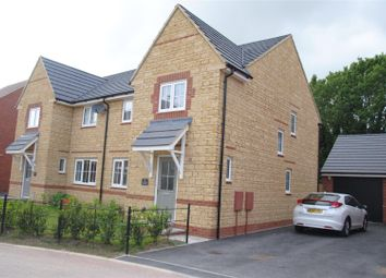 Thumbnail 4 bed semi-detached house for sale in Batsford Crescent, St Andrews Ridge, Swindon.
