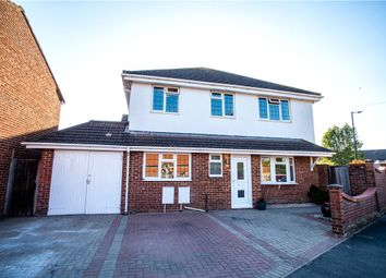 Thumbnail 4 bed detached house for sale in Robinhood Close, Cippenham, Slough