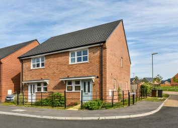 Thumbnail 2 bed semi-detached house for sale in Shuttle Road, Andover