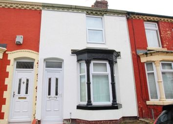 Thumbnail 2 bedroom terraced house for sale in Strathcona Road, Wavertree, Liverpool