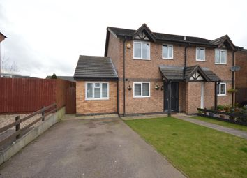 Thumbnail 3 bed semi-detached house for sale in Geveze Way, Broughton Astley, Leicestershire