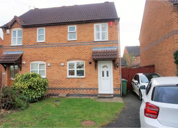 Thumbnail 2 bed semi-detached house for sale in Scalborough Close, Countesthorpe