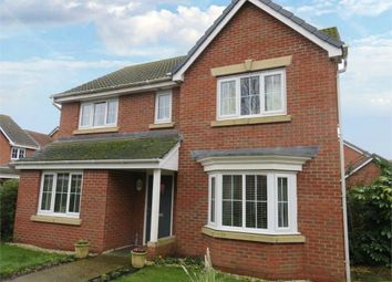 Thumbnail 3 bed detached house for sale in Augustus Close, North Hykeham, Lincoln