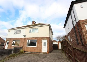 Thumbnail 2 bed semi-detached house to rent in Manor Gardens, Glenfield, Leicester