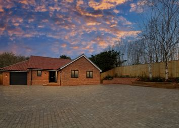 Thumbnail 3 bedroom detached bungalow for sale in Flordon Road, Creeting St Mary