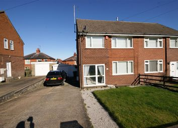Thumbnail 3 bed semi-detached house for sale in Manse Drive, Cowlersley, Huddersfield