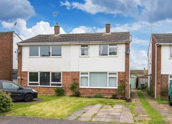 Thumbnail 4 bed semi-detached house for sale in Manor Road, Newton Longville, Milton Keynes