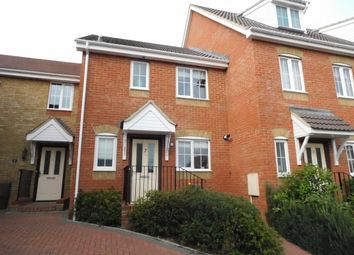 Thumbnail 2 bed terraced house for sale in Chaucer Close, Stowmarket