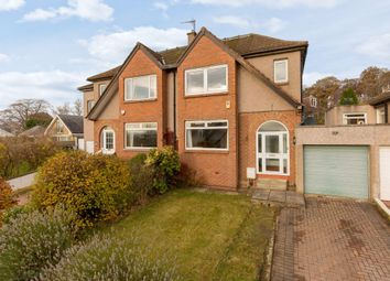 Thumbnail 3 bed semi-detached house for sale in 11 Corstorphine Hill Crescent, Corstorphine