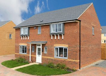 "Thumbnail 4 bed detached house for sale in ""Oakhampton"" at Arnold Drive, Corby"