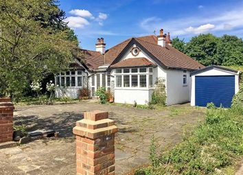 Thumbnail 4 bedroom detached bungalow for sale in Woodcote Road, Purley, Surrey
