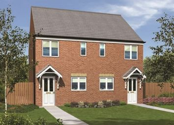 "Thumbnail 2 bed semi-detached house for sale in ""The Moulton"" at The Middles, Stanley"