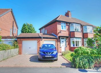 Thumbnail 3 bed semi-detached house for sale in Eastwood Gardens, Kenton, Newcastle Upon Tyne