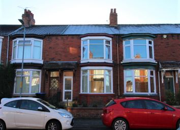Thumbnail 3 bed terraced house for sale in Rockliffe Road, Linthorpe, Middlesbrough