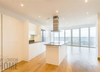 Thumbnail 1 bedroom flat to rent in Arena Tower, Canary Wharf, London