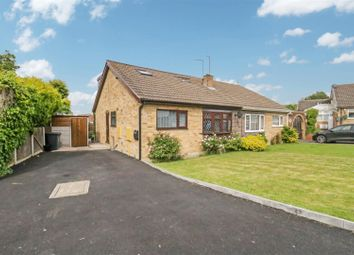 Thumbnail 3 bed semi-detached bungalow for sale in Rasen Close, Mexborough