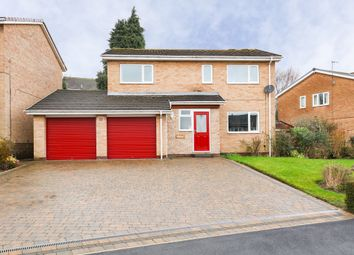 Thumbnail 4 bed detached house for sale in Everard Avenue, Bradway, Sheffield