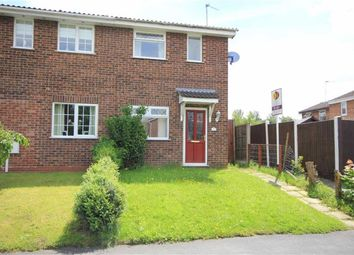 Thumbnail 2 bedroom semi-detached house to rent in Britannia Drive, Stretton, Burton On Trent, Staffs